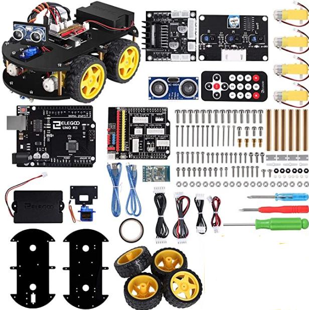 Arduino Auto bauen